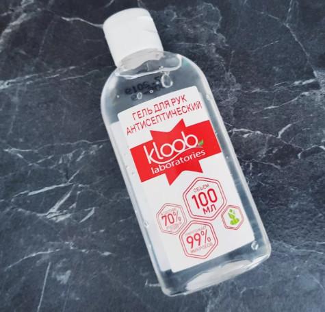 Антибактериальный гель Kloob (100 мл)