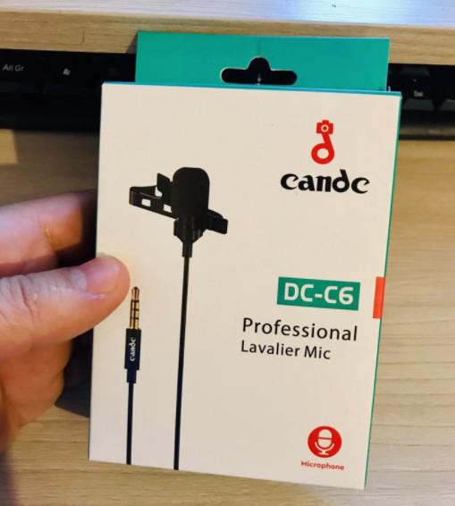 Петличный микрофон Candc профессионал